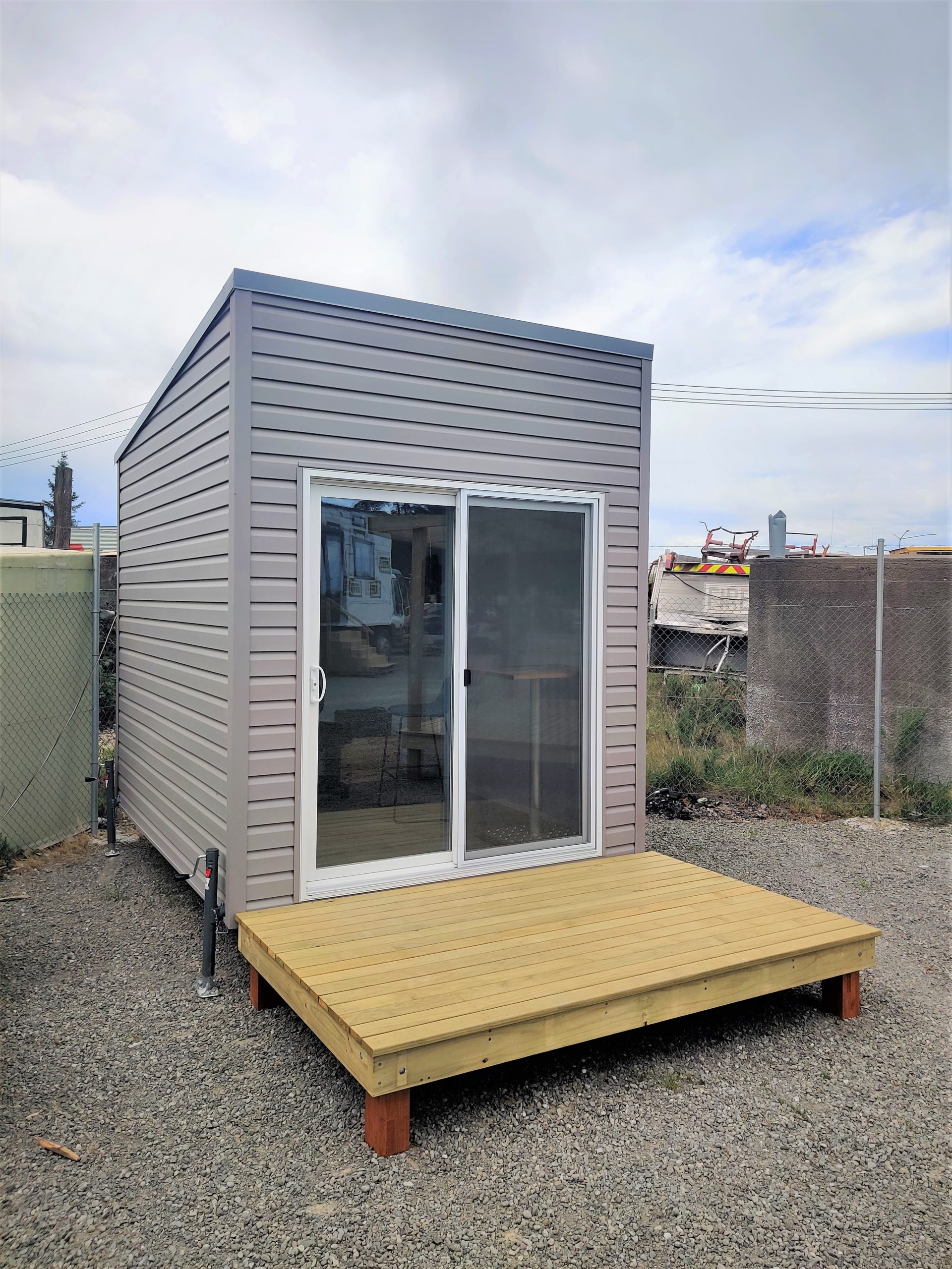 Tiny Office built by Tiny House Builders