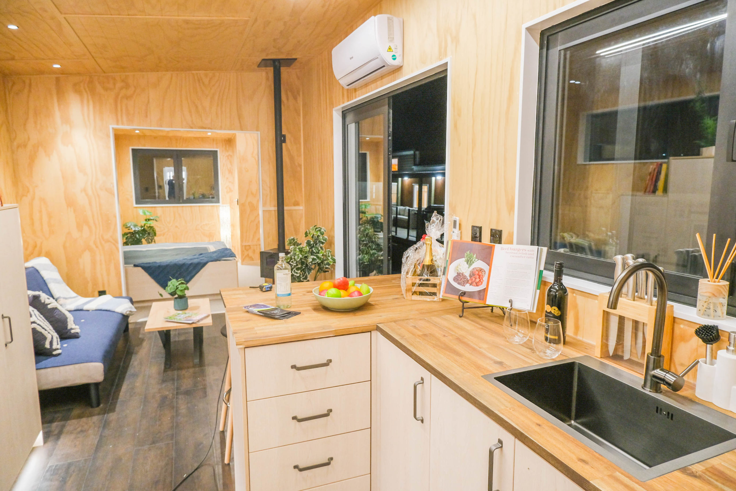 Freezer Truck Tiny House