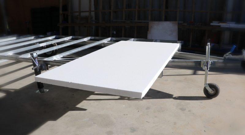 Sub-floor insulation