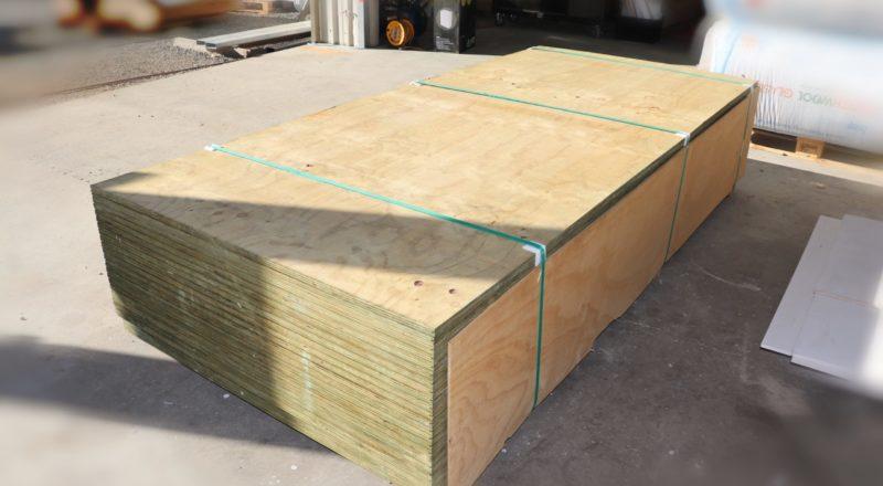 Sub-floor plywood